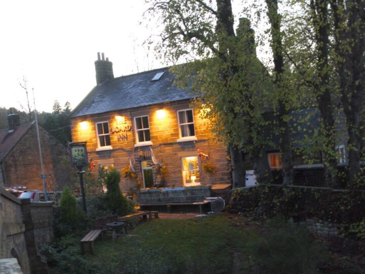 Lealholm: an idyllic place on the River Esk during a beautiful sunset. Remaining impressions - and it won't take too long for the coming season!