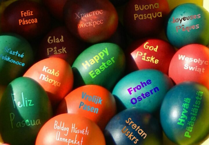 Wherever you are: Happy Easter - and take care.