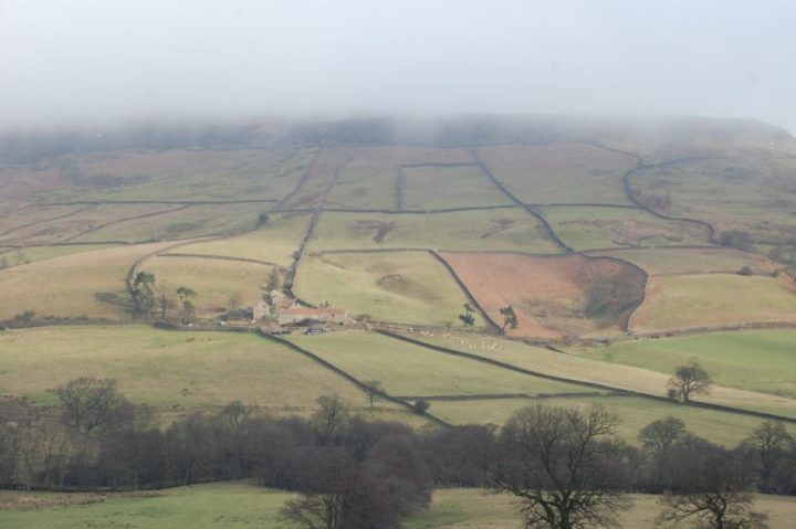 We crossed our fingers that the fog will lift for our last shooting day at Farndale