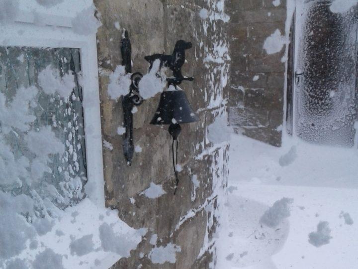 ...und auch beim zweiten Hinsehen: tanzende Schneeflocken!