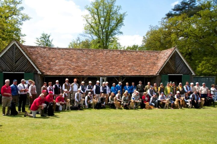 Lunchtime and time for a picture of all the teams!