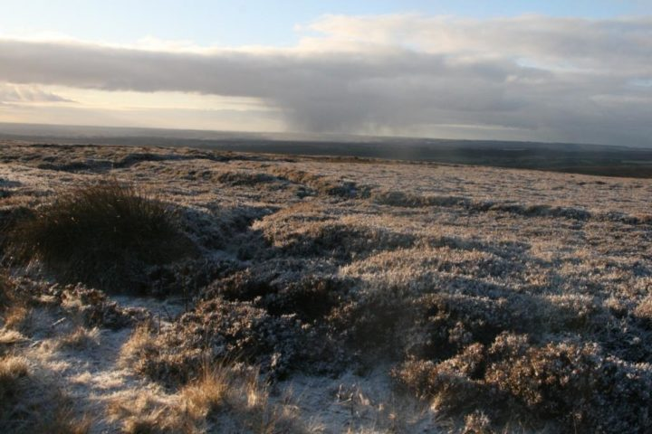 Levisham moors: Winter is not over yet - we are just at the end of February!