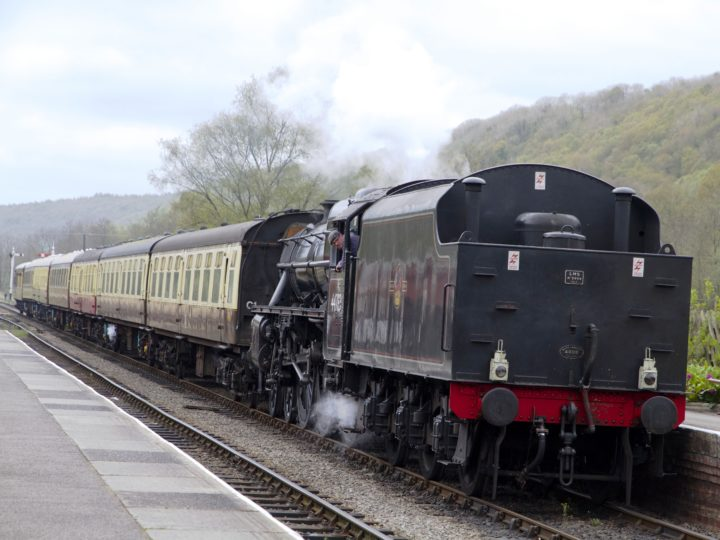 The journey continues to Goathland and Grosmont