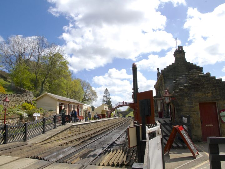 Grosmont station is home to the operating and engineering world of NYMR.