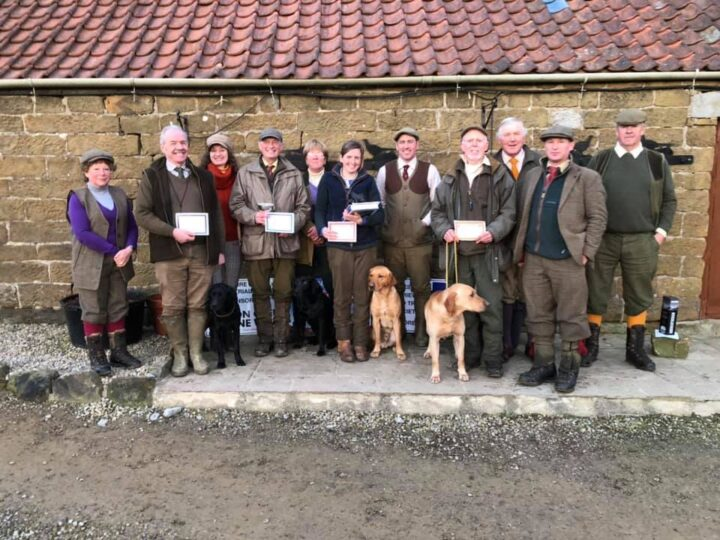 21.1.20: Flint was awarded 2nd at the AV Novice trial from Yorkshire Retriever File Trial Society at Snilesworth. 1. & Guns Choice - Kirsty Howson with Crooklet Ferris Lunefirefly. 2nd place - Daniel Marx with Lockthorn Flint of Oysterbed. 3rd Place - Bill Lambell with Eiderbay Ribble. CoM - Brian Dodsworth with Hazeloaks Thistle.
