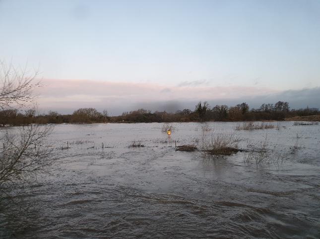...floods...