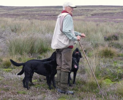 August 2016: start of another shooting season. Duffy nearly can't wait...
