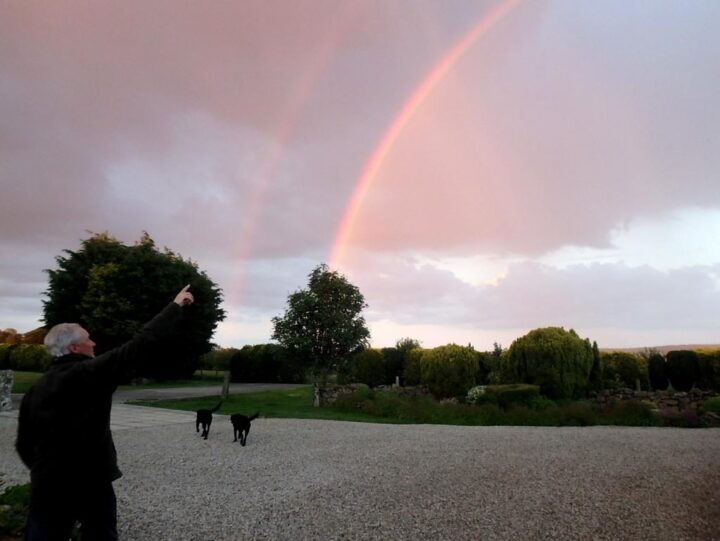 ...at the end of every rain there is always a rainbow;...