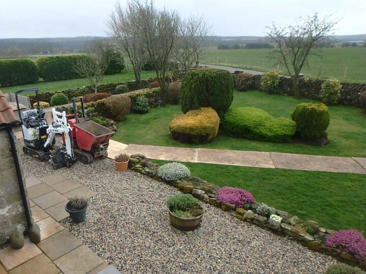 ...finally the garden company starts!