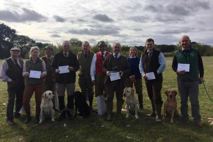 1.10.2018: Yorkshire Gundog Club - Novice AV Retriever Trial in Everingham: 1. B. Dodsworth, 2. Daniel Marx, 3. Sinead Wilkinson. COM D. Logan & G. Dobb