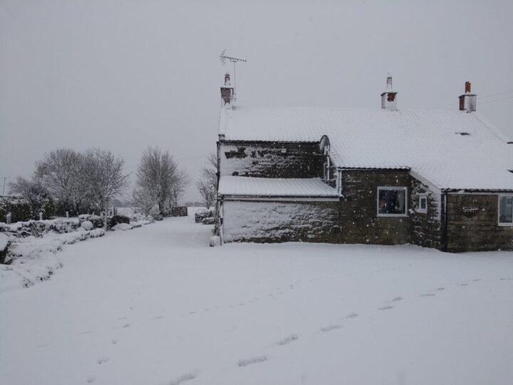 Onset of winter - matching to Lockdown.