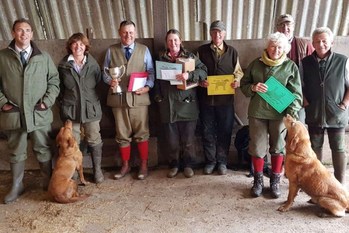 30.9./1.10.19: Great two days at Hy-Fly - Ziva got 3rd at the 2 day Open AV Field Trial of the Clwyd RC (1st J Halstead & FTCh MacGiriaght Foxy Lady, 2nd K Cousins & Hawksgarth Sirocco). Congratulations!